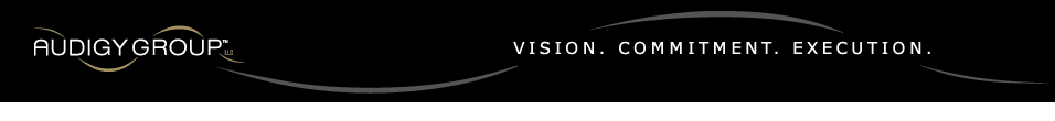 Audigy - Vision. Commitment. Execution.